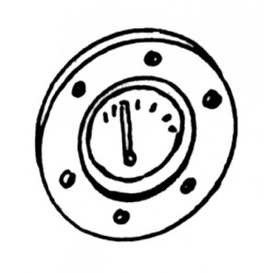 55-9251 HO Fuel Tank Round Gauge_25005