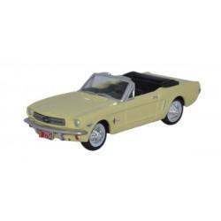 553-87MU65004 HO 1965 Ford Mustang Convertible - A_25471