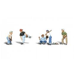 HO Baseball Spieler Set 1 - Baseball Players I_26704