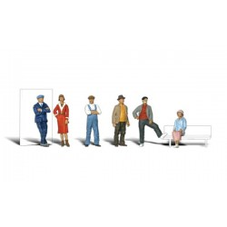 HO Personen im Freizeit-Look - Casual People_26708
