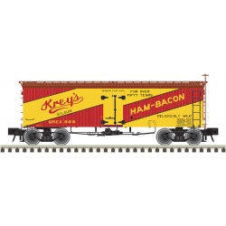 151-3002425-1 O 36' Wood Reefer (2-Rail) Krey's_26799