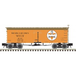 151-3002426-2 O 36' Wood Reefer (2-Rail) Wilson_26801