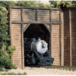 HO Tunnelportal Holz (einspurig)_2697