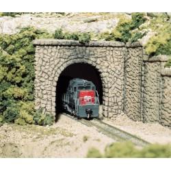 HO Tunnelportal Stein (einspurig)_2701