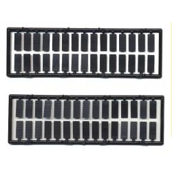 "293-2052 O Rivet plates 9"" x 22"" (4 x 11 mm)_27105"