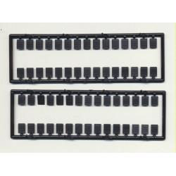 "293-2051 O Rivet plates 9"" x 12"" (4 x 6 mm)_27109"