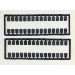 "O  Rivet plates 9"" x 12"" (4 x 6 mm)_27109"