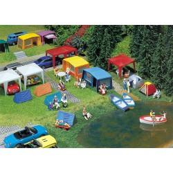 Fal-130504 HO Camping-Zelte-Set_27137