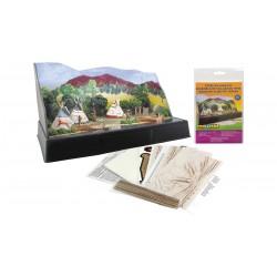 785-SP4133 Tepee village kit_27623