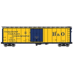 910-2803 HO 50' PCF Insulated box car B&O 475318_28573