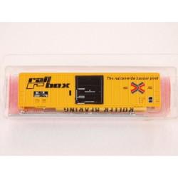 N 50' FMC sgl. door box car Railbox Misso_28703