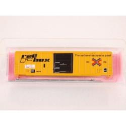 480-8921 N 50' FMC sgl. door box car Railbox C&O_28705
