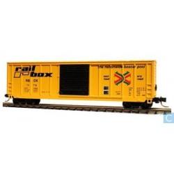 N 50' FMC sgl. door box car Railbox_28709