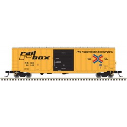"751-2001054-7 O ACF 50'6"" box car Railbox (Large L_28877"