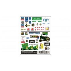 Abreibebilder Assorted Logos & advertising signs_2980