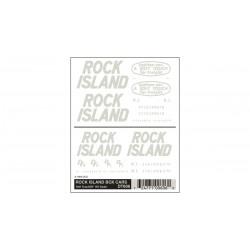 Abreibebilder Rock Island Box Cars_3000