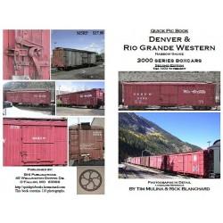 BHI Books D&RGW 3000 Series Box Car - 2nd Ed._30173