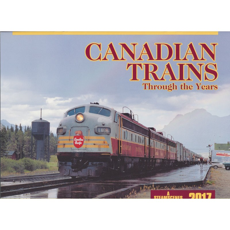 6703-CT.17 / 2017 Canadian Trains Kalender_30207