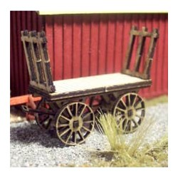 OSB-3084 N Baggage Cart (2) wood kit_30508