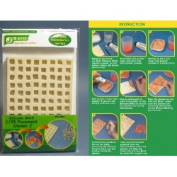 JWM-3004 1:35 Silicone Mold Pavement Stones 2_30518