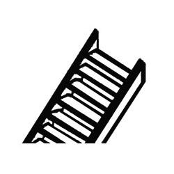 570-90662 HO oder 1:100 Styrene Stair (2) 10x128mm_30585