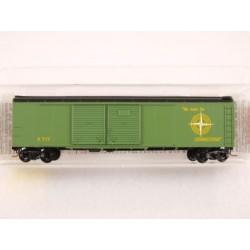 489-79040 N 50' Wagon Top Box Car, Double Door