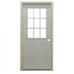 650-2364 HO Steel Door with 9 lite window_30689
