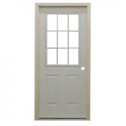 650-2364 HO Steel Door with 9 lite window_30689