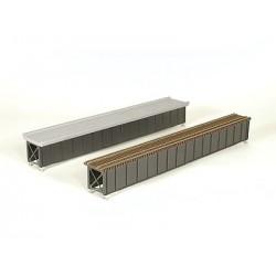 255-75-505 HO Deck-Girder Bridge w/Open Deck_31094