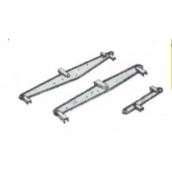 585-9888 G  Freight Car brake lever Bremsgestänge_31545