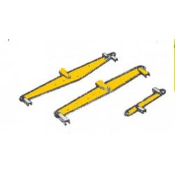 585-9889 G  Freight Car brake lever Bremsgestänge_31547