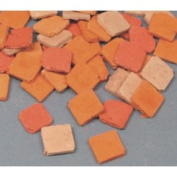 JWM-3006 1:35 Red Roof Ceramic Tiles (50pcs)_31582