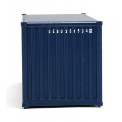 949-8064 HO 20' Corr.Side Container GE Seaco (blue_31734