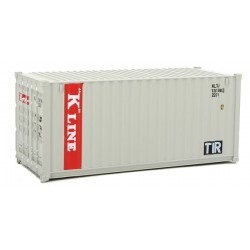 949-8065 HO 20' Corr.Side Container K-Line (gray,_31739