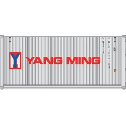949-8068 HO 20' Corr.Side Container Yang Ming (gra_31759