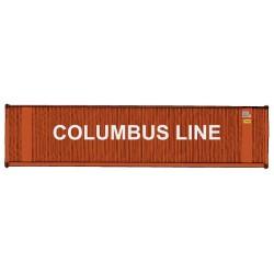 949-8214 HO 40' Hi-Cube Corr. Container Columbus L_31780
