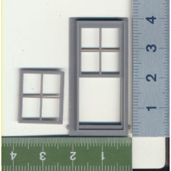 293-2022 O Fenster - 4/4 DOUBLE HUNG WINDOW_32117