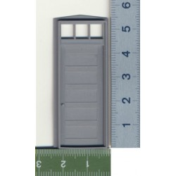 293-2032 O Tür - 5 PANEL DOOR/FRAME/TRANSOM_32132