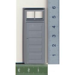 293-2036 O Tür - 5 PANEL DOOR/FRAME/TRANSOM_32158