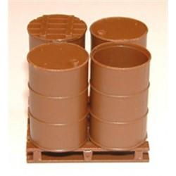 O Fässer Drums with lids & Pallets 15 / 4_32194