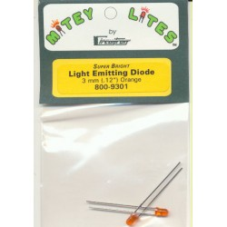 Circuitron Super Bright LED 3.2 mm Orange_32238