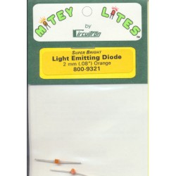 Circuitron Super Bright LED 1.8 mm Orange_32244