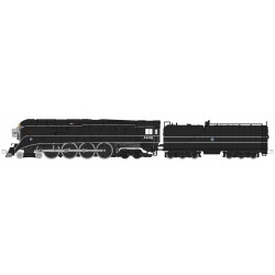 381-126-0312 N GS-4 BNSF Excursion Black # 4449_32316