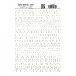 Dry Transfer Decals Roman R.R. weiss_3234