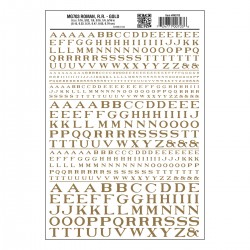 Dry Transfer Decals Roman R.R. gold_3235