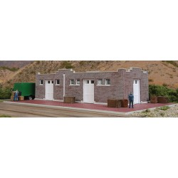 933-4056 HO Brick Mission-Style Santa Fe Freight H_32428