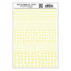 785-MG711 Nummer Roman R.R. gelb_3243