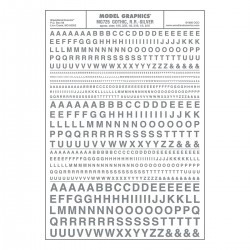 Dry Transfer Decals Gothic R.R. silber_3257