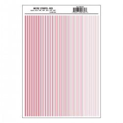 Dry Transfer Decals Streifen rot_3294