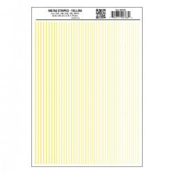 Dry Transfer Decals Streifen gelb_3295